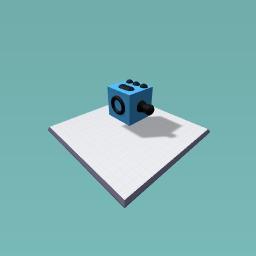 Homemade fidget cube
