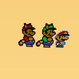 Mario e Luigi : paper jam 16 bits
