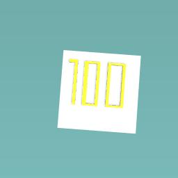 100 blocks challenge