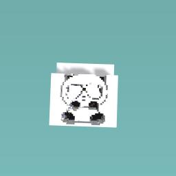 Panda cool and cute