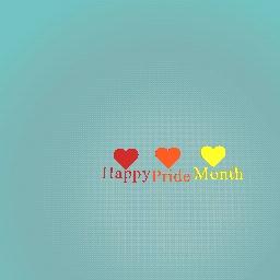 Happy pride month :D