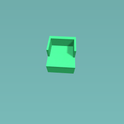Simple cotton green chair