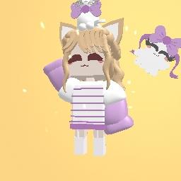 mah avatar wit lil' ghostie! :33333