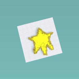 A weird star