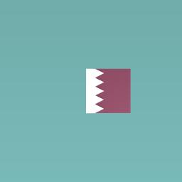 Qatars flag