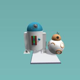 R2-d2 & bb8