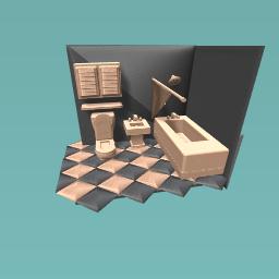 fancy restroom