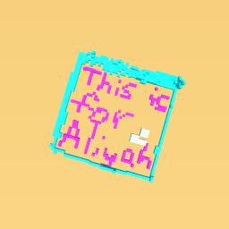 I love you Aliyah!