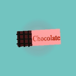 A CHOCOLATE BAR MADE FOR A GAINT