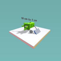 The solar sholder light