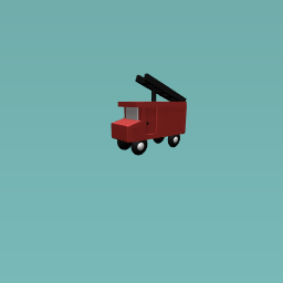 Unfinished fire truck