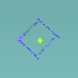 A shape poem