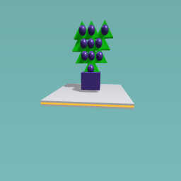 Tree with ornmants