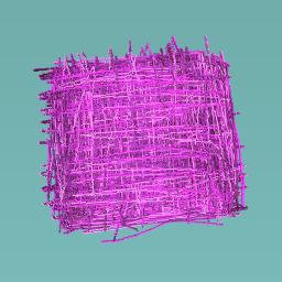 Plato morado y rosa