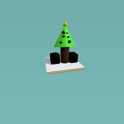 Chrismas tree with presents!