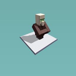 Minecraft Farmer Villager