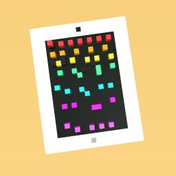 A rainbow app ipad(it is a apple)