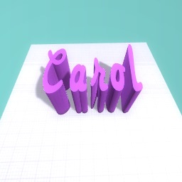 My Name in 3D