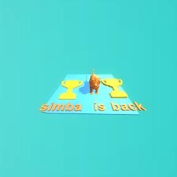 simba is back baby