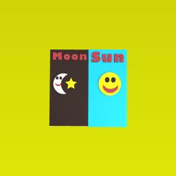 Sun moon :)