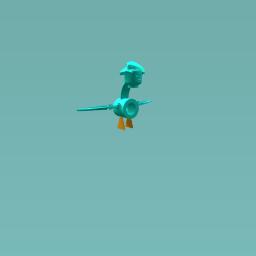 Bizzare bird