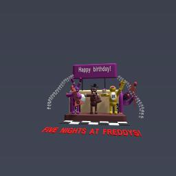 Freddy fazbears stage!