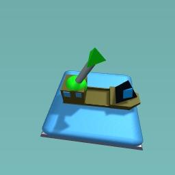 USA war boat