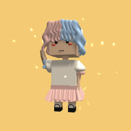 Cotton Candy Girl..!