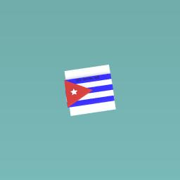 Cuba's national flag