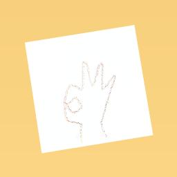 Ok hand