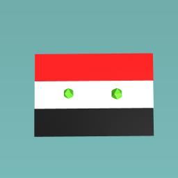 syria flag (: