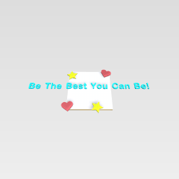 Be amazing today!!!!