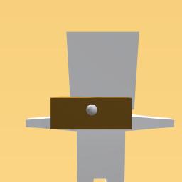 golden button mask