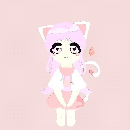 -Pink kitty-