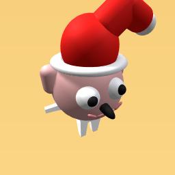 Santa nose!