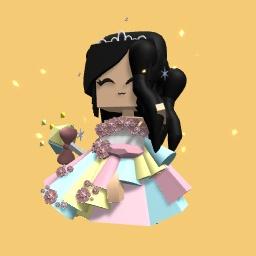 Pretty princess girl