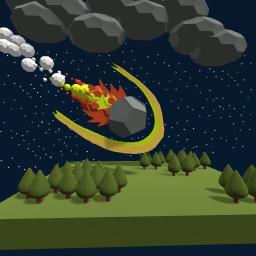 Meteor crash!!