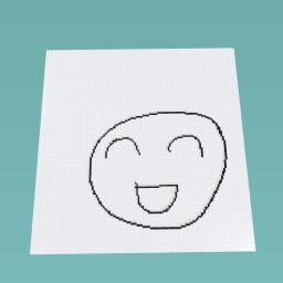 The happy smile