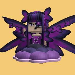 VPJ creation= Dark butterfly girl (FREE)